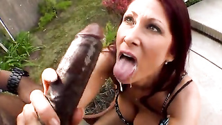 Tiffany Mynx Gets A Monsters Cock