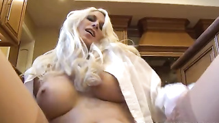 Sexy blonde girlfriend POV sex with her boyfriend