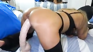 Fetish BDSM games with big boobs slave Silvia and her passion about it