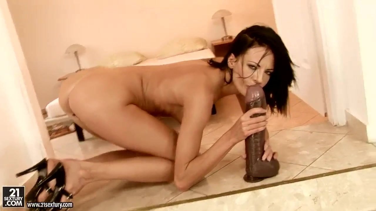 Multiple squirt orgasm on table