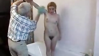 Woolly Teen Gets Her Butt Banged And Piss Hole Creamed