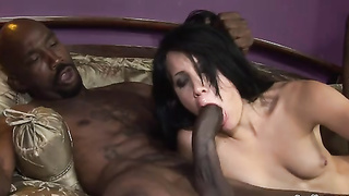 Luscious Brunet Has The Best Fuck In Her Life