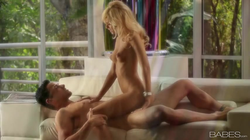 Sexy Blonde Girl From Portugal Has Passionate Sex